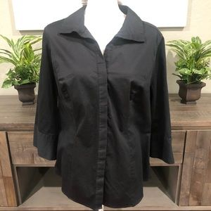 Lane Bryant Button Up Top Size 22